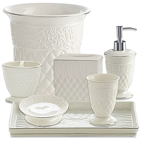bed bath and beyond bathroom accessories kassatex florentine bathroom accessories bed bath beyond