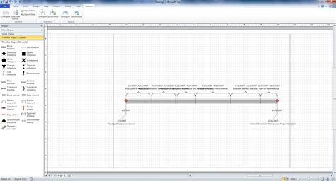 visio 2010 template best photos of project timeline template visio 2010