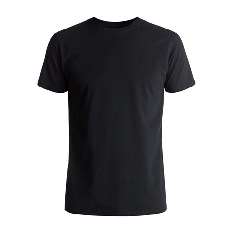 Black Basic Shirt mens basic 2 t shirt eqyzt04502 quiksilver