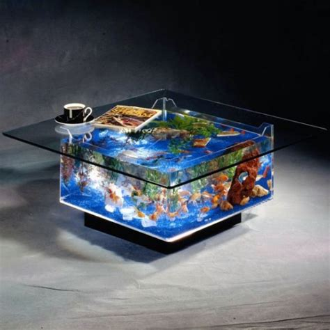 Best Interior Design House Goldfish Coffee Table