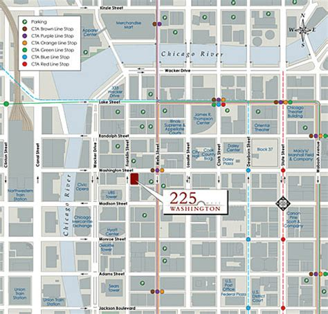 downtown chicago map pdf okrent associates inc planning and zoning real estate