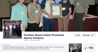 Yahoo Sweepstakes Award Lottery Promotion - scammers set up fake missing persons pages to harvest facebook likes