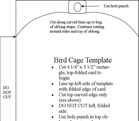 3 x 5 cage card template microsoft tickell expressions template bird cage card