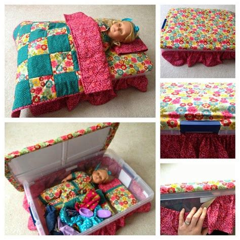 diy american girl doll bed living a doll s life reader photos diy doll bed sew