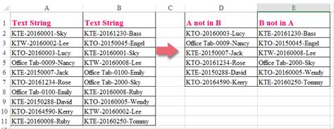 regex pattern alphanumeric how to compare alphanumeric values in two columns in excel