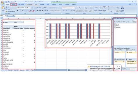tutorial microsoft excel pivot table career training certification classes in chicago free