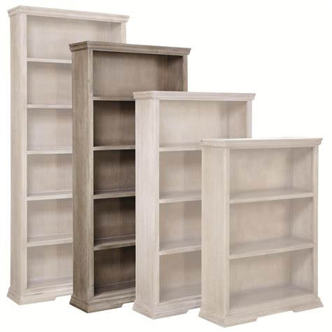 aspenhome creek 72 quot bookcase with 4 fixed shelves