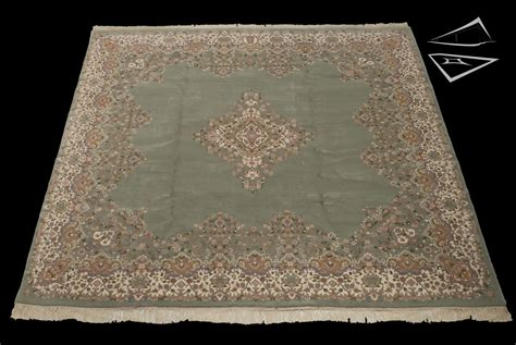 10 X 10 Square Rug Kerman Design Square Rug 10 X 10