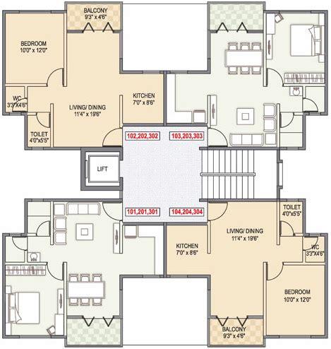 1bhk Floor Plan by Gulmohar County Talegaon 1 Bhk Flat Floor Plan Thursday