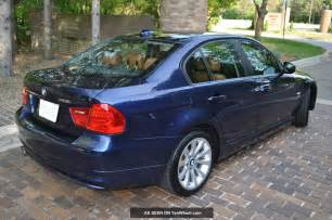 2011 bmw 328i xdrive base sedan awd heated rebuilt