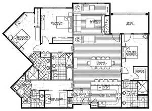 Condominium Floor Plans by Condo House Plans 171 Floor Plans