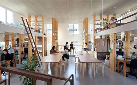 this japanese design studio has designed an office building for themselves contemporist