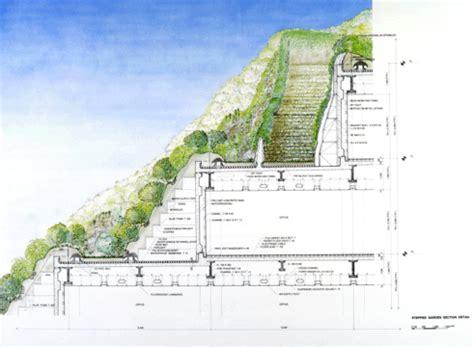 terrace garden section gpw acros fukuoka prefectural international hall