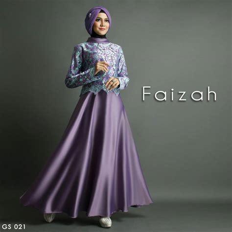 Harga Gamis Merk Shiraaz jual busana muslim gs 021 faizah by shiraaz