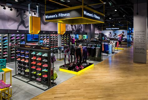 sporting shoe stores sun sand sports flagship store the dubai mall by green