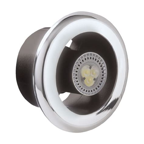 bathroom extractor fan light manrose ledslcfdtcn slktc shower fan and led light kit