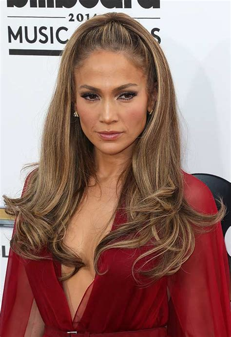jennifer lopez half up half down hairstyles 25 gorgeous half updos that you ll love