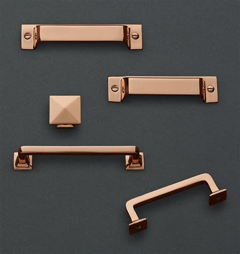 copper kitchen cabinet hardware modern copper cabinet pulls roselawnlutheran
