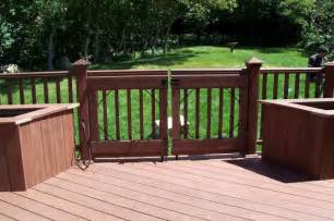 patio gates one level trex accents 174 saddle wood deck with lighting and