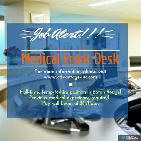 medical office front desk jobs medical office front desk jobs f f info 2017