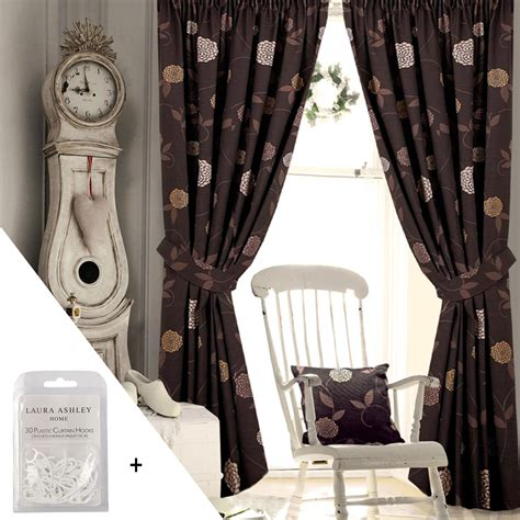 lined bedroom curtains ready made floral pencil pleat curtains living room bedroom ready