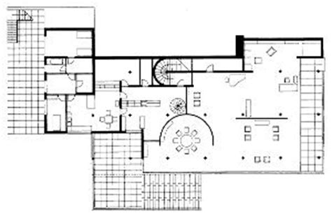 villa tugendhat floor plan fritz and grete tugendhat house brno