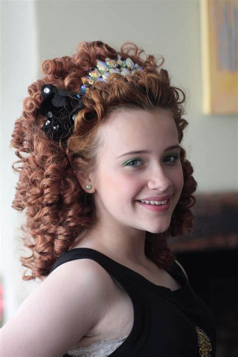hairstyles for an irish dancing feis 71 best irish dance hair wigs and headbands images on