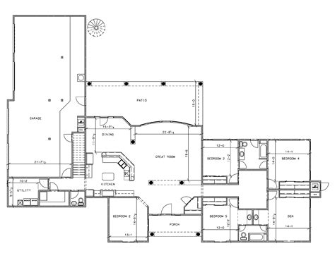 simple farmhouse floor plans bungalow blueprints studio design gallery best design