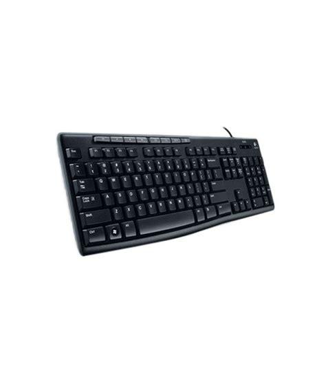 Keyboard Logitech K200 logitech media keyboard k200 buy logitech media keyboard k200 at low price in india