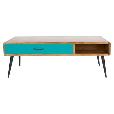 buy libra lightwood multicoloured retro coffee table at