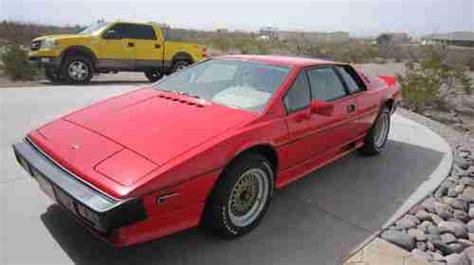 1986 lotus esprit car photo and specs buy used lotus esprit 1986 turbo s3 in alamogordo new mexico united states for us 15 800 00