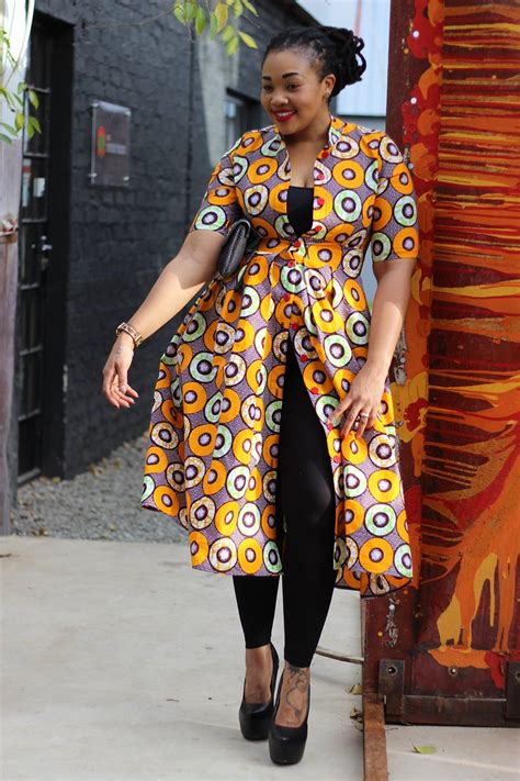 africa bow fashion print coat dress bow africa fashion african style