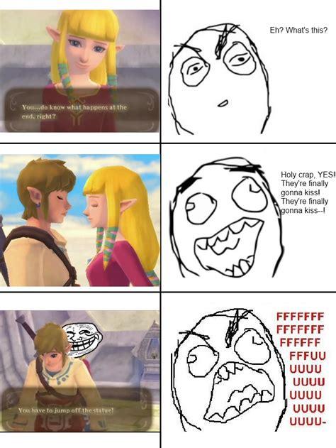 Zelda Reaction Meme - zelda s such a troll by almightyxor on deviantart