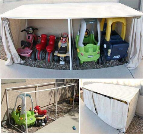 Handmade Storage Ideas - 24 practical diy storage solutions for your garden and