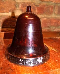 vintage musical christmas bell jingle bells by