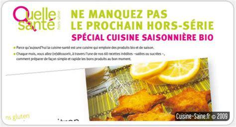 cuisine bio v馮騁arienne cuisine bio hors s 233 rie cuisine bio du magazine