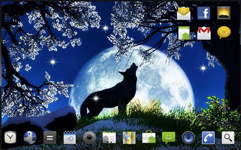 hd themes live wallpaper download wolf song hd live wallpaper for android wolf