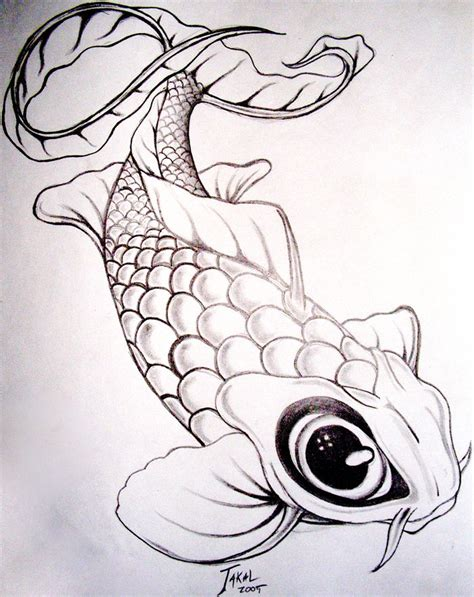 Drawing Koi Fish by Koi Fish Drawing Search Disc Golf Designs