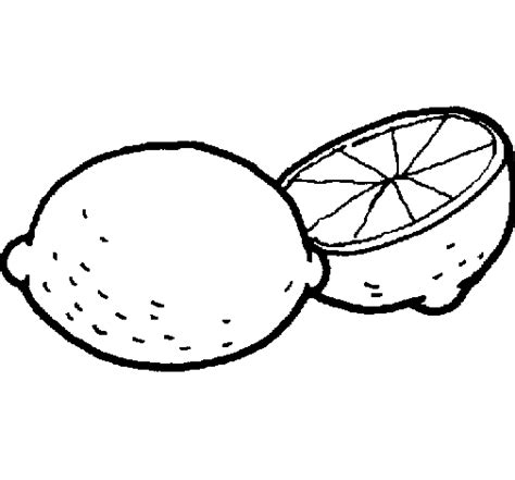 Coloriage 224 Imprimer Nature Fruits Citron Num 233 Ro 573824