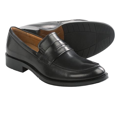 loafers slip ons ecco canberra loafers leather slip ons for