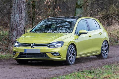 Volkswagen Logo 2020 by 2020 Volkswagen Golf 8 Spied Virtually Undisguised