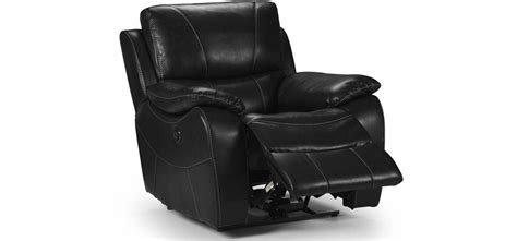 Black Leather Electric Recliner Sofa Belgravia Electric Recliner 3 1 1 Seater Leathaire Electric Recliner Black Black Leather