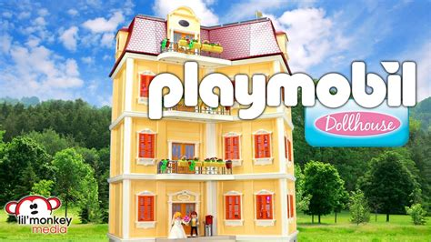 play mobile doll house playmobil dollhouse large grand mansion and 12 add on
