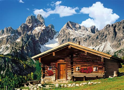 bergh 252 tte 214 sterreich 1000 teile clementoni puzzle - Chalet österreich Silvester