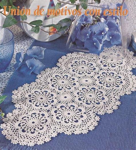 camino de mesa a crochet como hacer caminos de mesa tejidos a crochet imagui