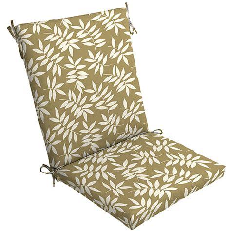 mainstays floral outdoor chair cushion leaf patio