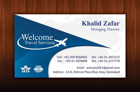 visiting card templates for tours and travels travel business cards business card design