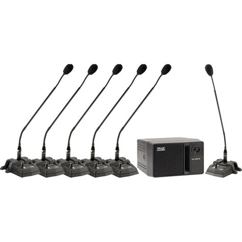Mic Wireless Conference Hy 8002 anchor audio councilman cm 6w conference microphone cm 6w b h