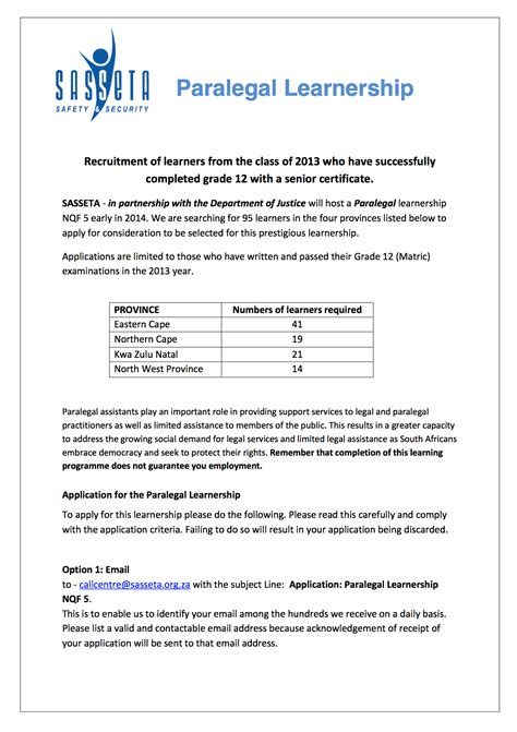 Motivation Letter Of Learnership Www Available Learnership In Ford In 2015 Autos Post