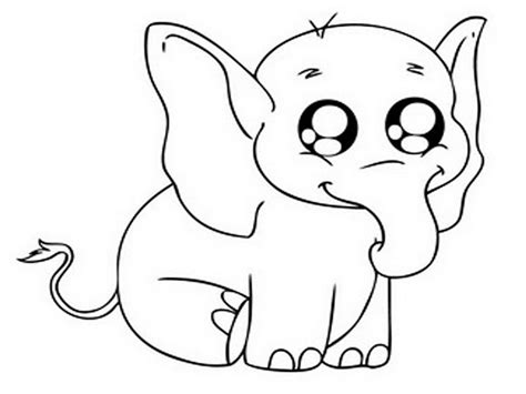 printable coloring pages of baby elephants cute baby elephants free printable coloring page for